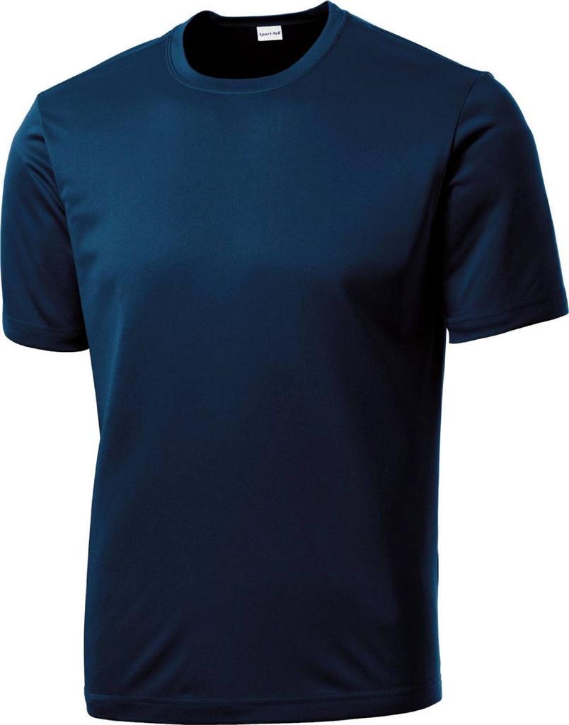 Mens dri fit short sleeve sport tek moisture wicking t for Mens t shirts 4xl