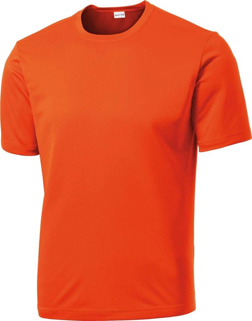 Mens dri fit short sleeve sport tek moisture wicking t for Mens moisture wicking sleeveless shirts
