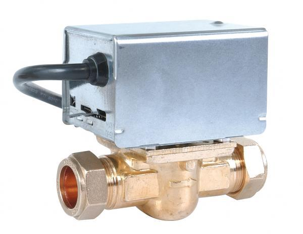 Honeywell replacement 22mm 2 3 port zone diverter valves for Honeywell valve motor replacement