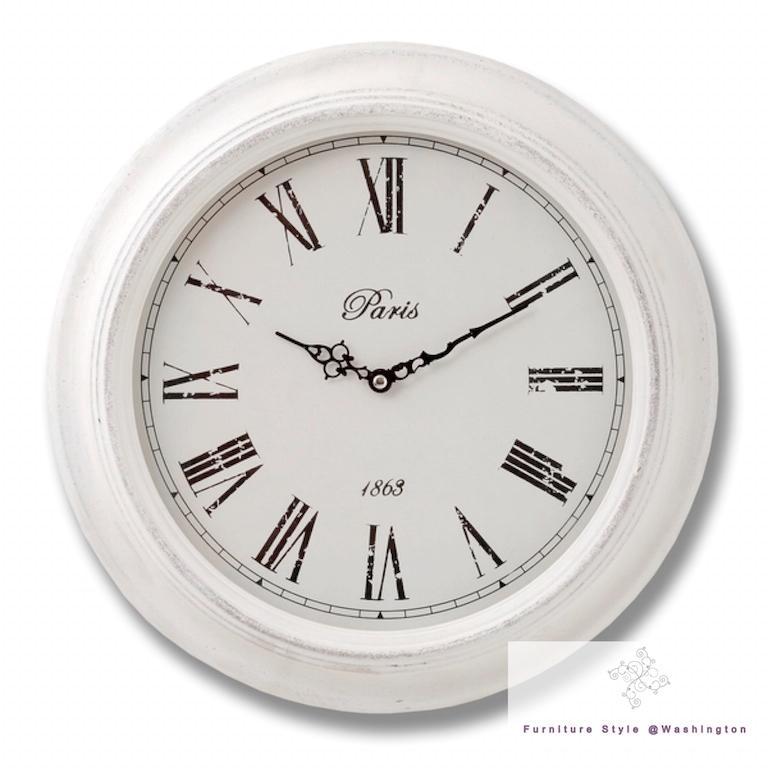 Large Wall Clocks Kitchen Shabby Chic Vintage Station ...