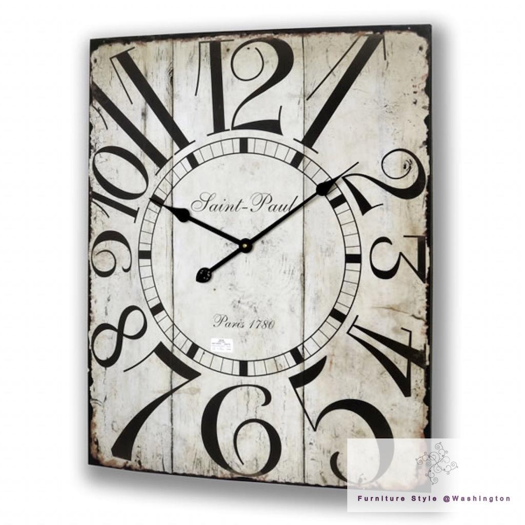 large wall clocks kitchen shabby chic vintage station