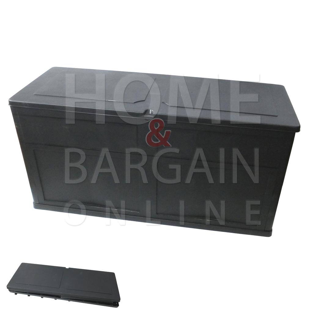 Plastic Storage Chest Trunk Bench Folds Flats Home