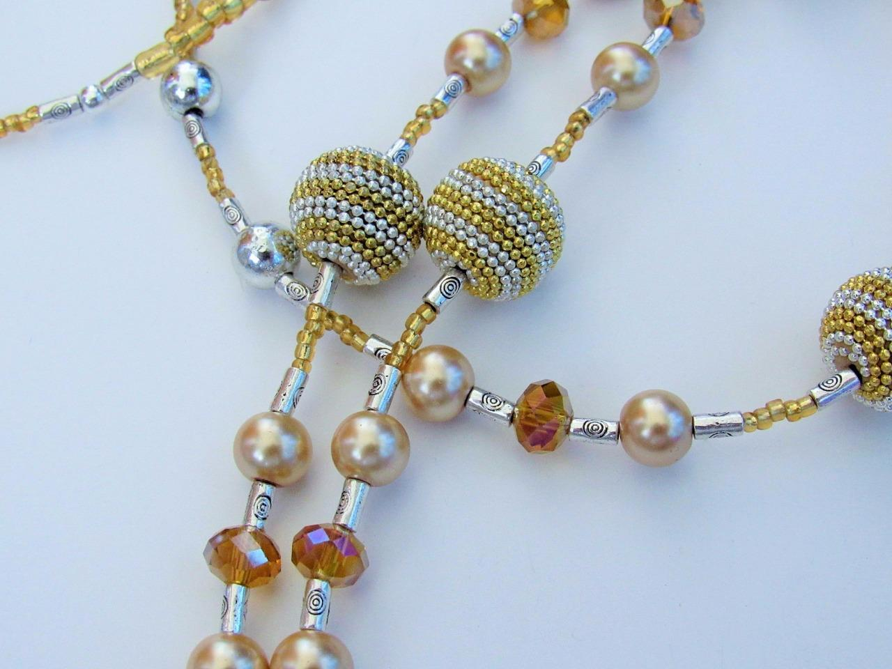 how to make a beaded eyeglass chain