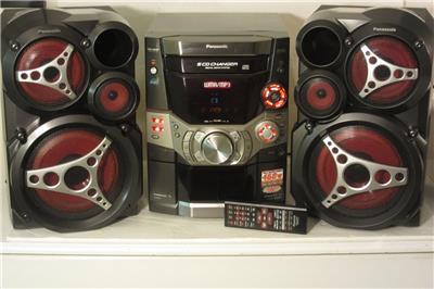 panasonic sa ak610 460w 5 cd multi compact disc changer. Black Bedroom Furniture Sets. Home Design Ideas