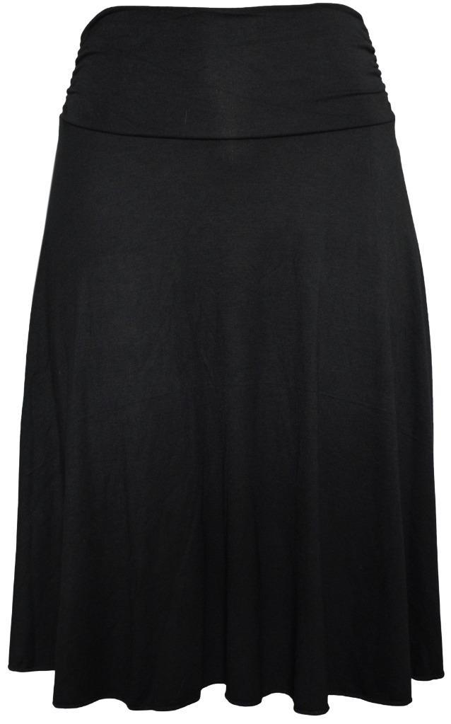 s plus size knee length flowy skirt ebay