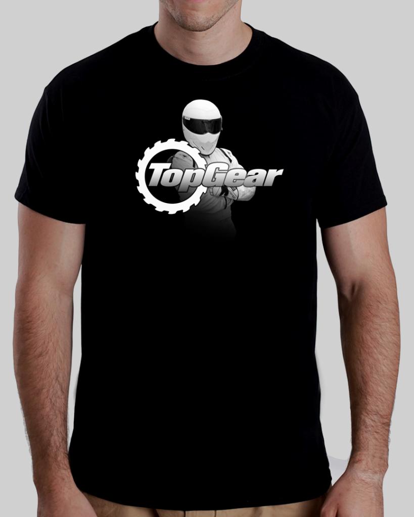BBC Topgear Stig Adult T Shirt Black