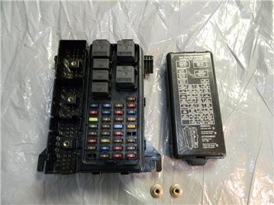 96-99 oem ford taurus sable fuse box junction block relay ... 96 ford taurus fuse box #2