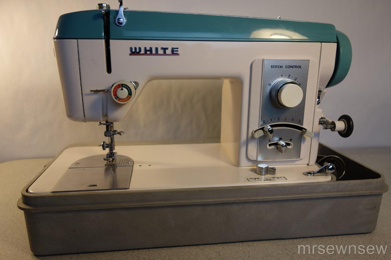 White Heavy Duty Sewing Machine Model 925 Denim Leather Upholstery See Video Ebay