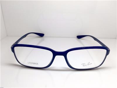 Royal Blue Glasses Frames : RAY BAN LIFEFORCE ROYAL BLUE EYEGLASSES RB7037 5431 56 17 ...