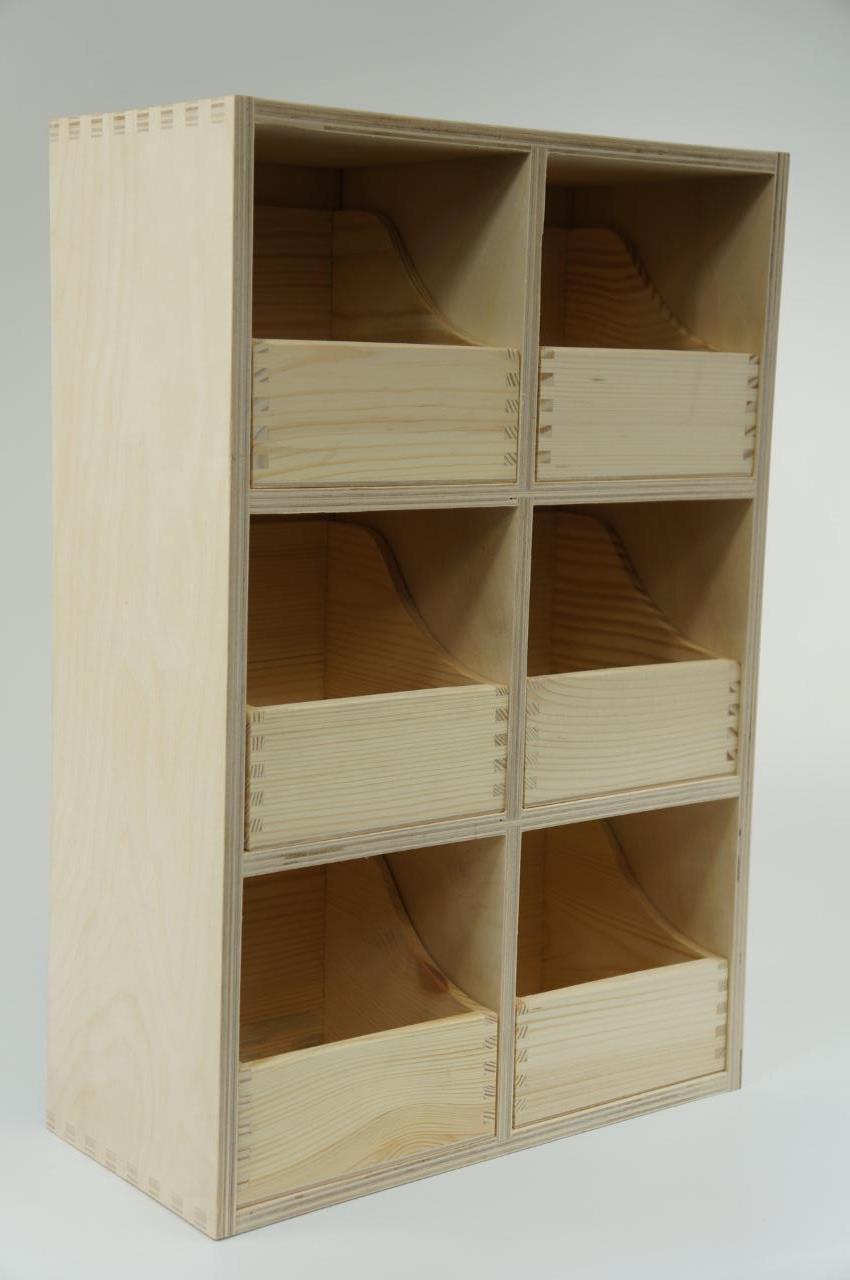plain wooden storage box chest drawers craft decoupage. Black Bedroom Furniture Sets. Home Design Ideas