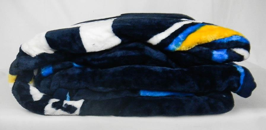 New Exclusive Nfl Super Soft Plush Throw Blanket Chargers