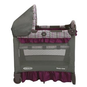 New Graco Travel Lite Purple Grey Nyssa Playard Pack N