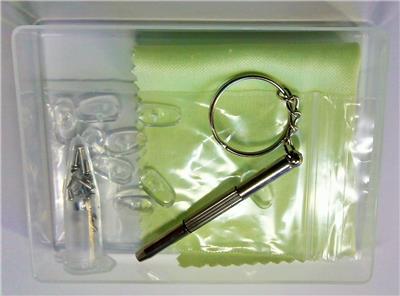 Eyeglass Repair Kit Target : SCREW NUT NOSE PAD OPTICAL REPAIR TOOL ASSORTED KIT SET ...