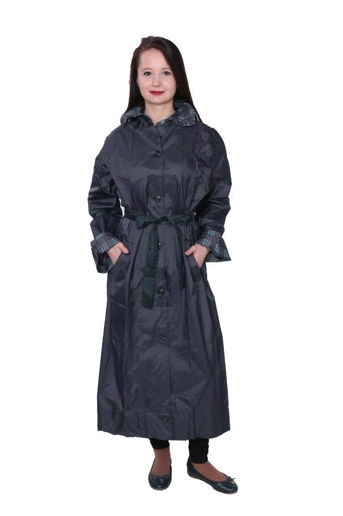 Women S Light Weight Hooded Raincoat With Travel Pouch