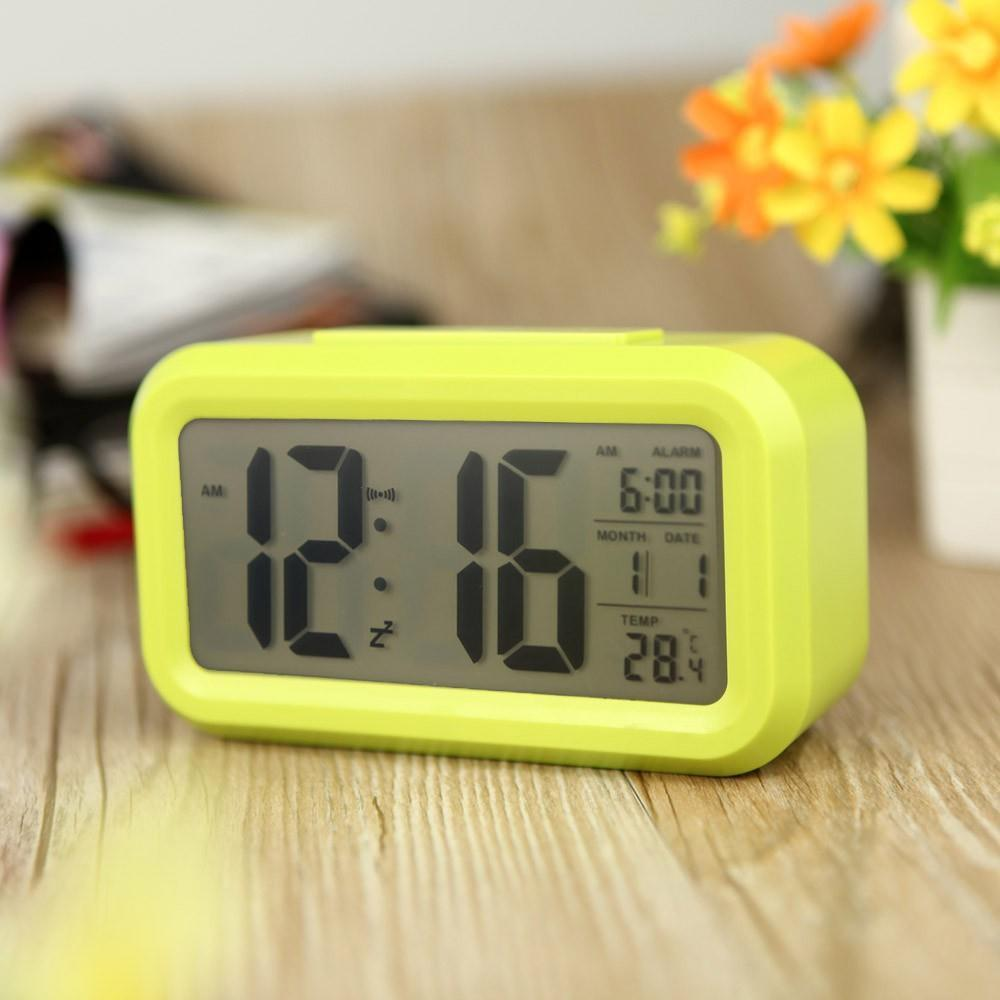 modern bedroom abs battery powered digital electronic led