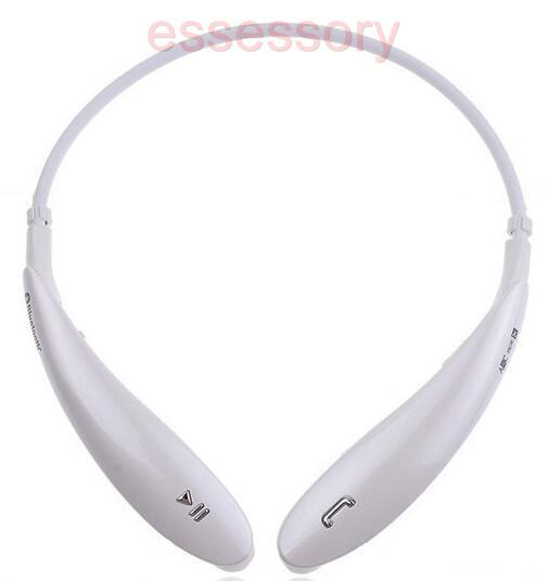 white hbs800 wireless bluetooth headset stereo tone ultra for iphone samsung. Black Bedroom Furniture Sets. Home Design Ideas