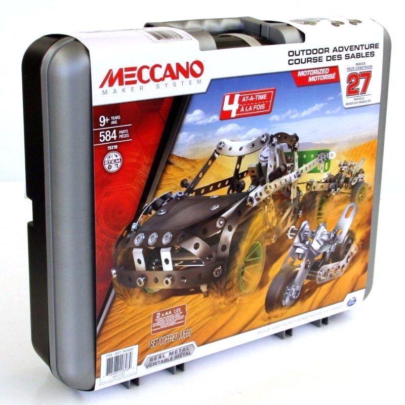 Outdoor Construction Toys : Meccano motorized models outdoor desert adventure kids