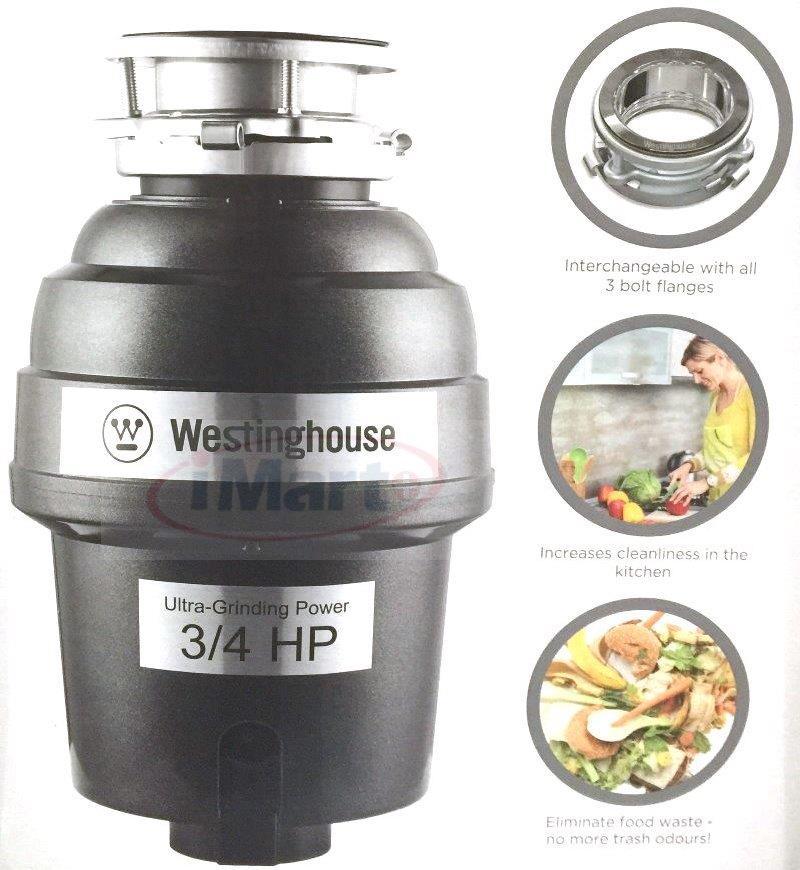 Westinghouse 3 4 Hp 2600 Rpm Motor Waste Disposer Garbage