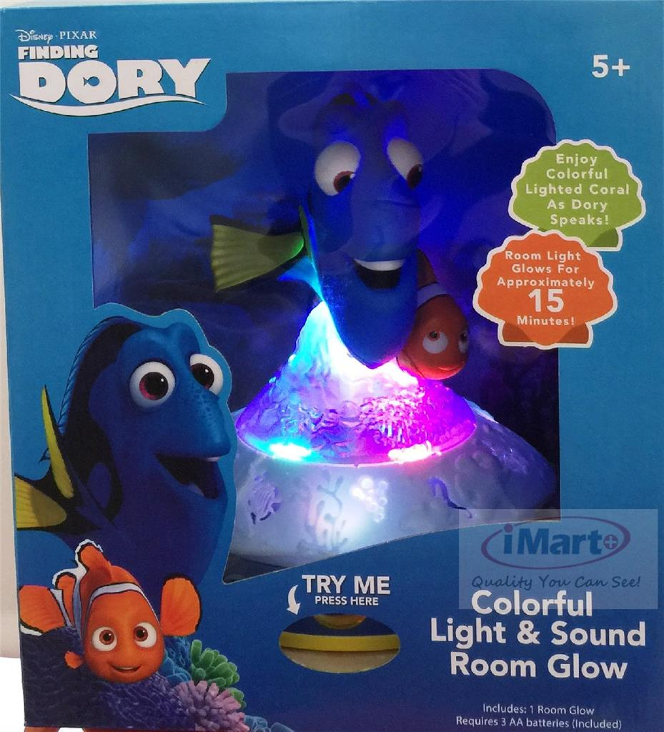 Finding Dory Light And Sound Room Glow
