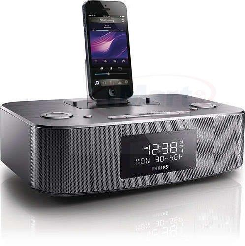 philips dtb297 docking station for iphone 5 6 ipad ipod dab fm radio alarm. Black Bedroom Furniture Sets. Home Design Ideas