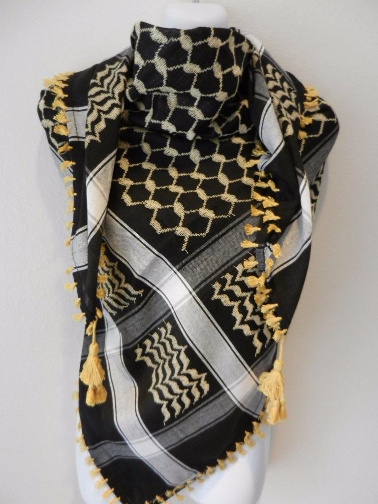 scarf keffiyeh shemagh arab original authentic quality