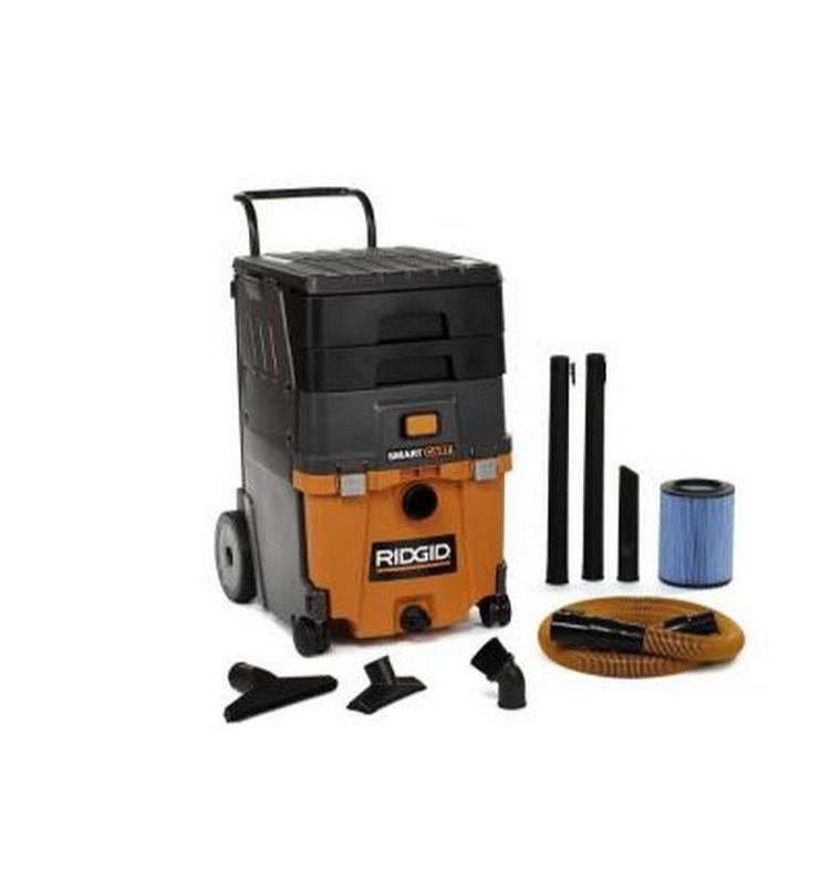 Ridgid Shop Vac Casters >> Ridgid 11 Gal. 6.5 HP Smart Cart Wet Dry Rolllng Vacuum Cleaner Home Car Shop 648846003221   eBay