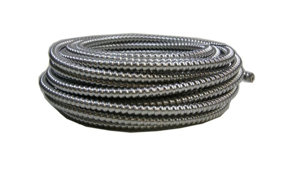 Armored Electrical Cable For Residential : Southwire ft aluminum mc light armored cable