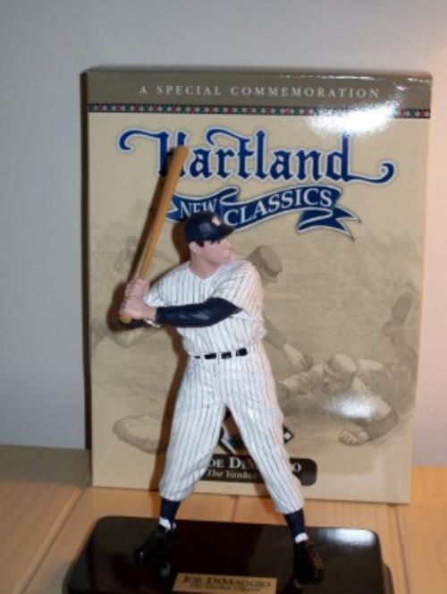Joe DiMaggio Batting Hartland Figurine