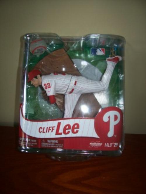 2012 Cliff Lee Philadelphia Phillies Series 29 McFarlane Figure