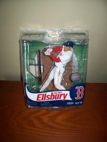 2012 Jacoby Ellersby Boston Red Sox Series 30 McFarlane Figure