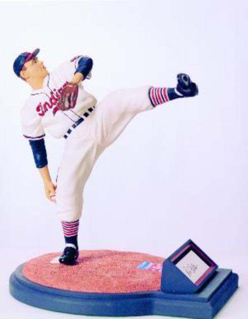Bob Feller Indians Signed Romito Figurine!