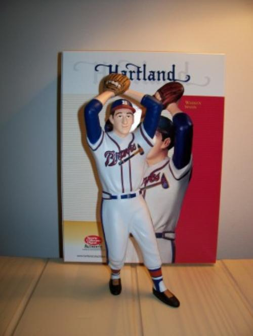 Warren Spahn Boston Braves Hartland Figurine