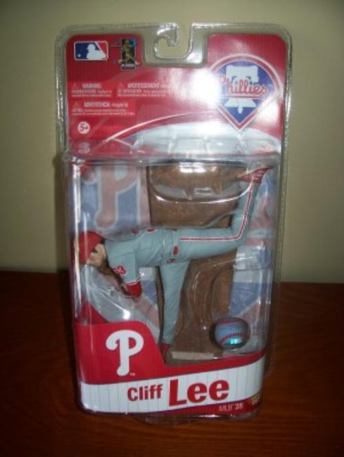2011 Cliff Lee Philadelphia Phillies Series 28 McFarlane Figure