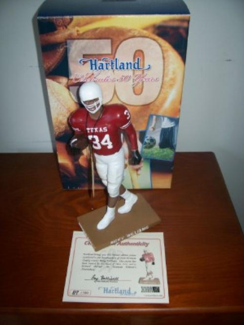 Ricky Williams Texas Heisman Hartland Figure