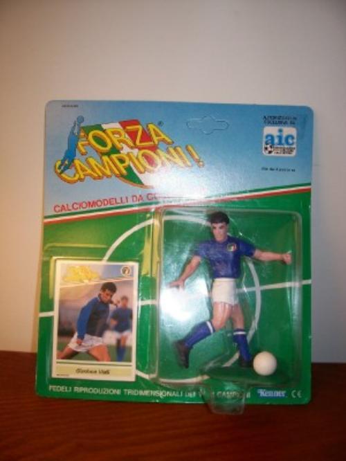 1989 Gianluca Vialli Soccer Starting Lineup from Italy