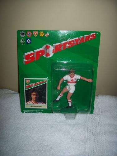 1989 Maurizio Gaudino VIB Stuttgart Soccer Starting Lineup Germany