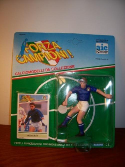 1989 Nicola Berti Blue J. Soccer Starting Lineup Italy