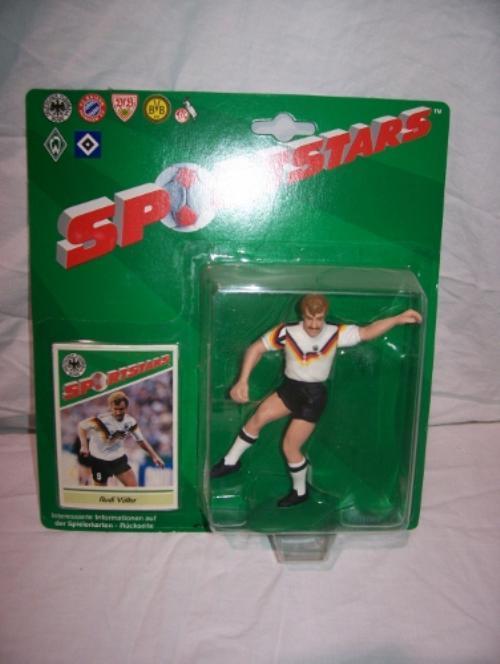 1989 Rudi Voller Soccer Starting Lineup Germany