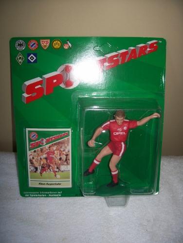 1989 Klaus Augenthaler FC Bayern Munchen Soccer Starting Lineup Figure Germany