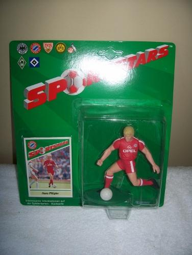 1989 Hans Pflugler FC Bayern Munchen Soccer Starting Lineup Figure Germany