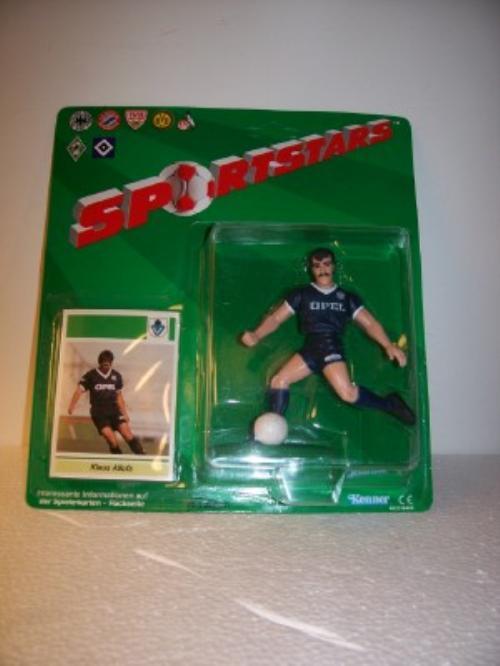 1989 Klaus Allofs Soccer Starting Lineup Germany