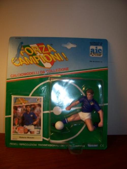 1989 Roberto Mancini Soccer Starting Lineup Italy