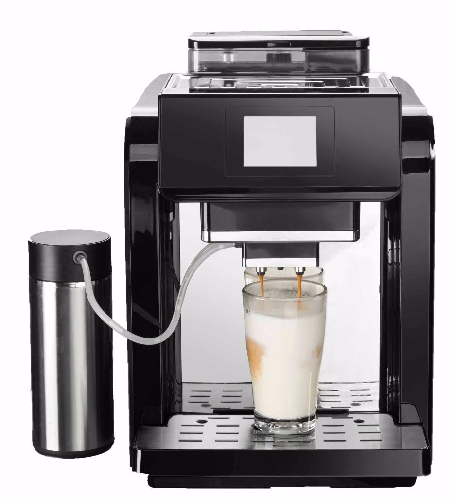 New pronto fully automatic one touch cappuccino coffee New coffee machine