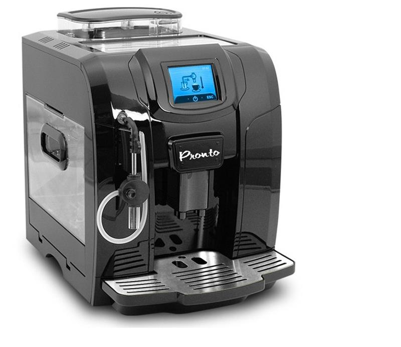 NEW PRONTO FULLY AUTOMATIC COFFEE MAKER CUPPUCCINO ESPRESSO LATTE MACHINE BLACK eBay