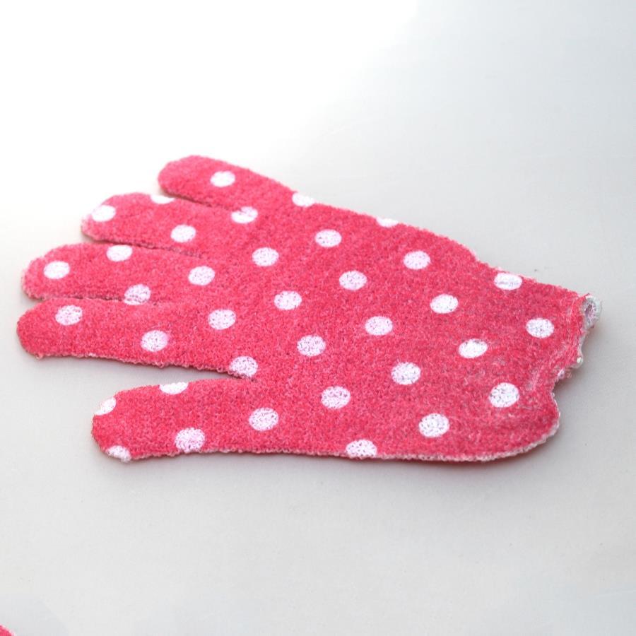 bad dusche peeling handschuhe körper massage haut weich nylon paar, Hause ideen
