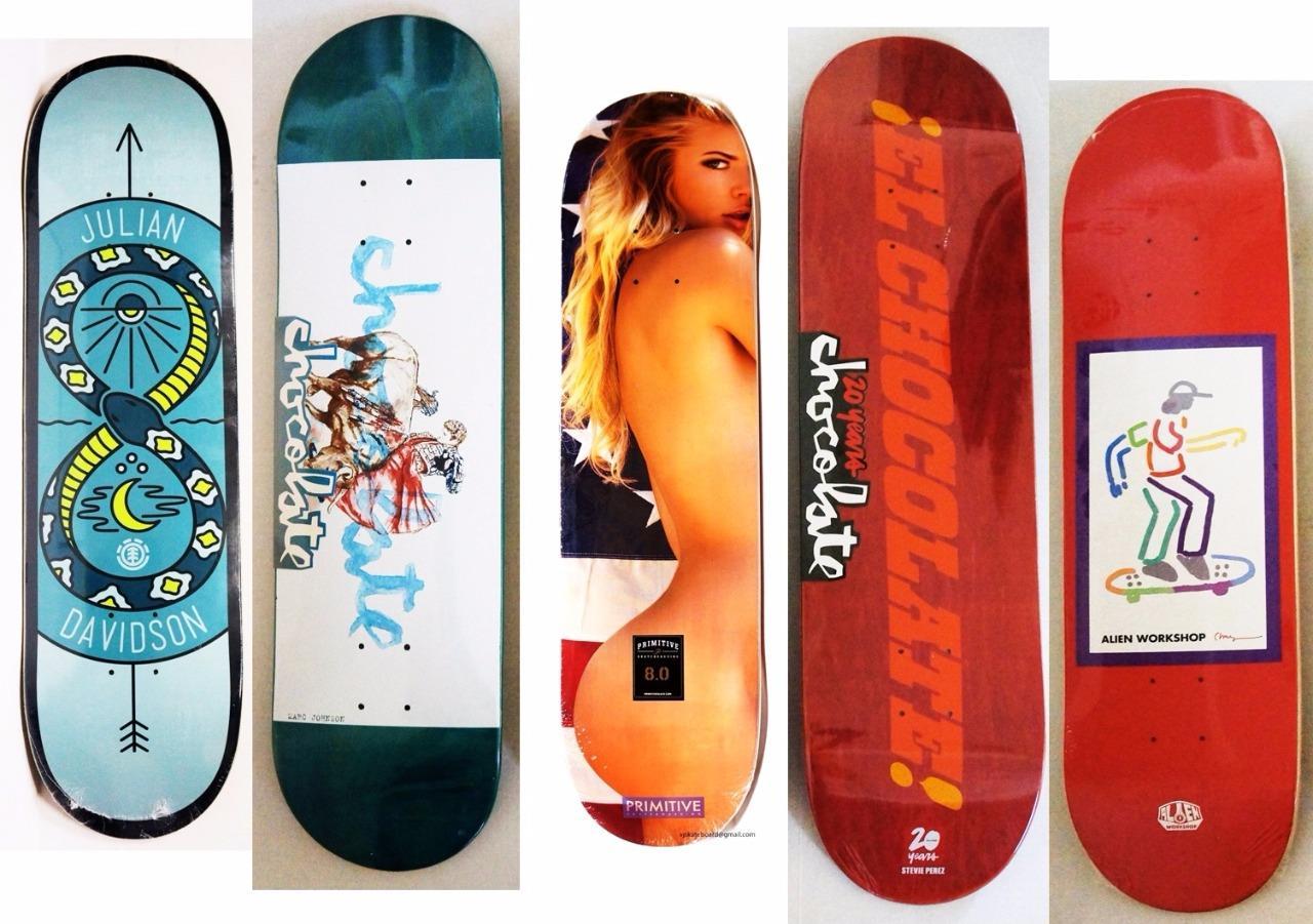 Wholesale Lot Brand Skateboard Deck Element Chocolate