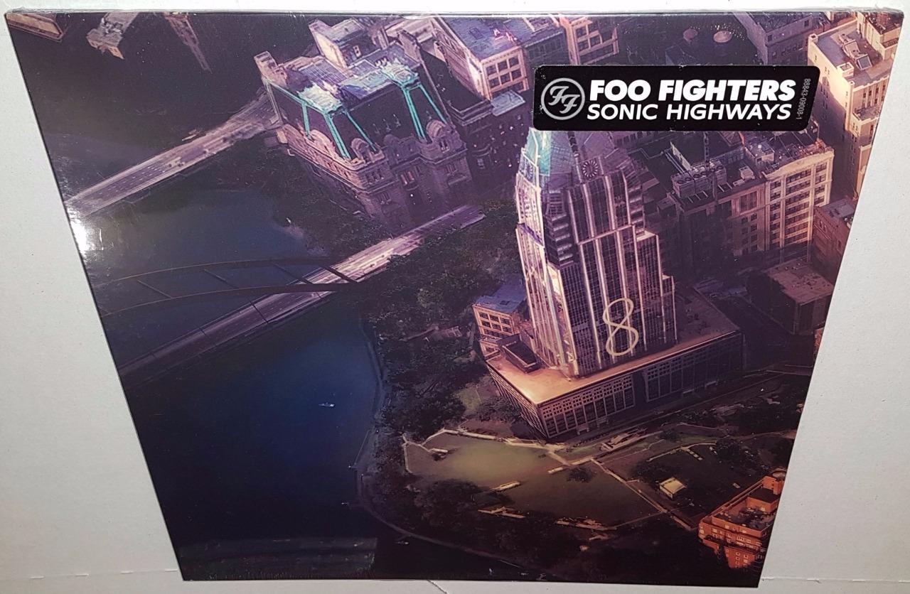 Foo Fighters Sonic Highways 2014 Brand New Sealed 12 034