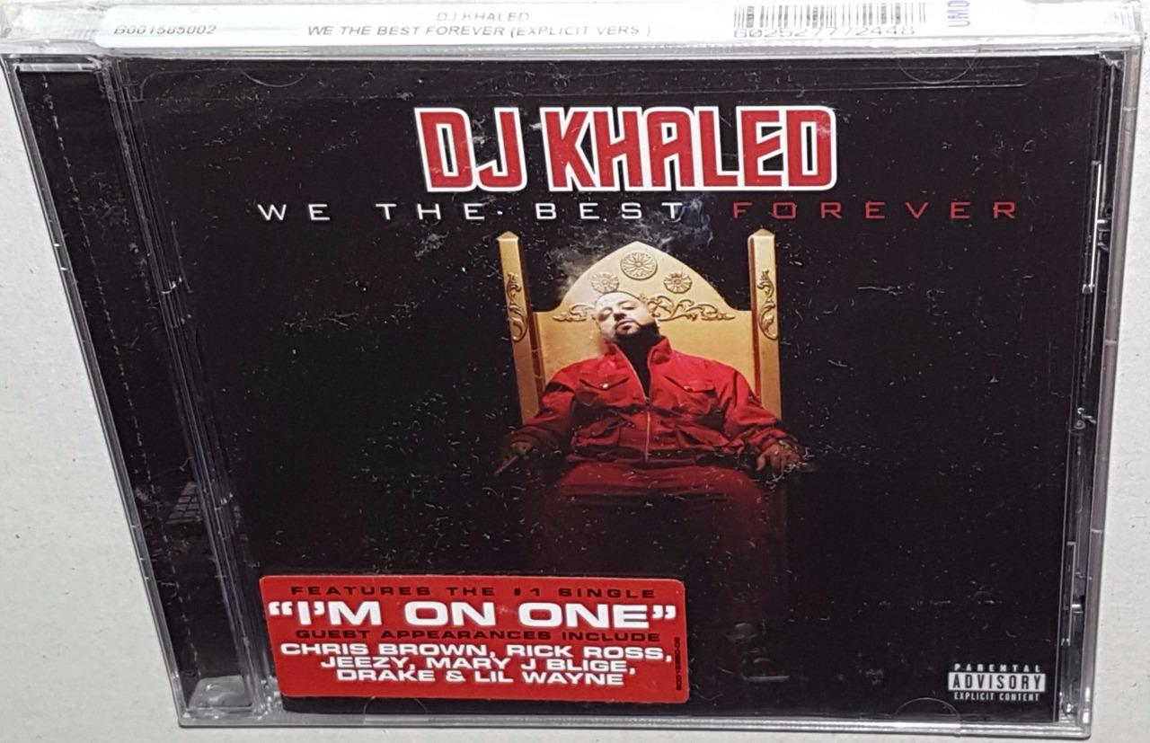 DJ Khaled - We The Best Forever (CD Album)