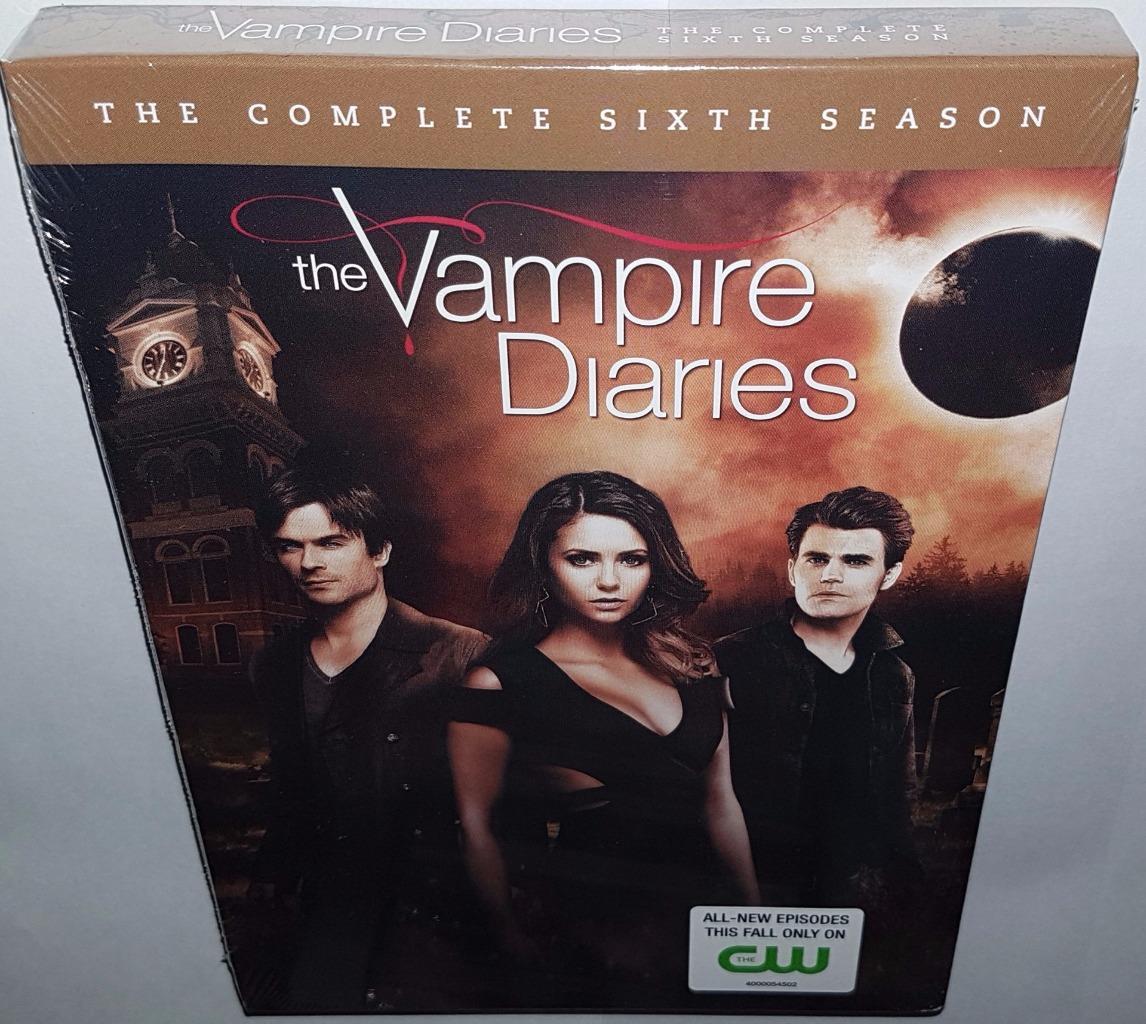 Vampire diaries season 6 dvd release date