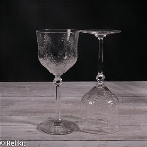 crystal long stem glasses austrian set of 13 wine and champagne glasses ebay. Black Bedroom Furniture Sets. Home Design Ideas